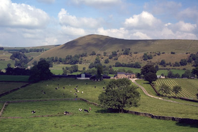 High Wheeldon across the Dove valley